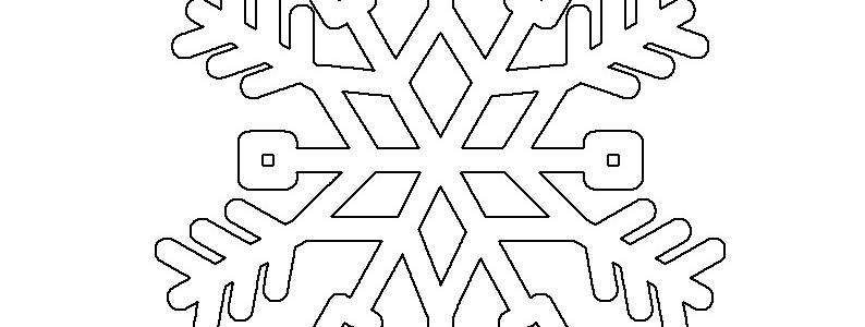 Cose disegni da colorare part 21 for Fiocco di neve da ritagliare
